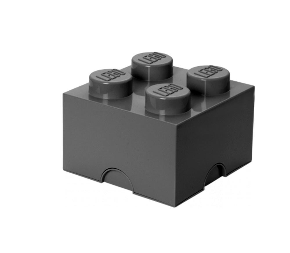 LEGO Storage Lego Opbevaringskasse 4 - Grå - Opbevaring - LEGO Storage