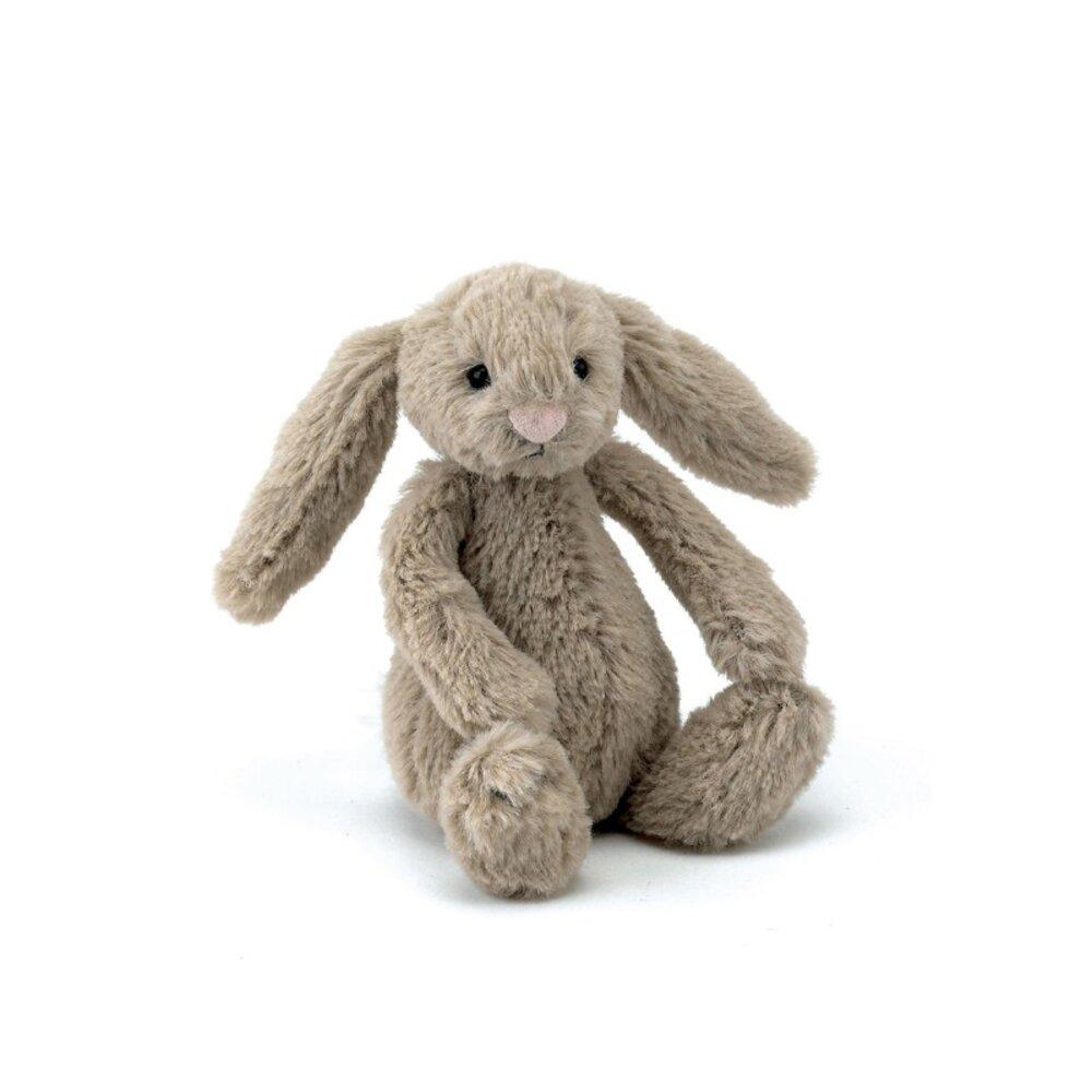 Image of JellyCat Bash kanin, Beige Baby 13 cm (a9fe06a4-b8fb-4f15-9cfa-20cd996f6dfe)