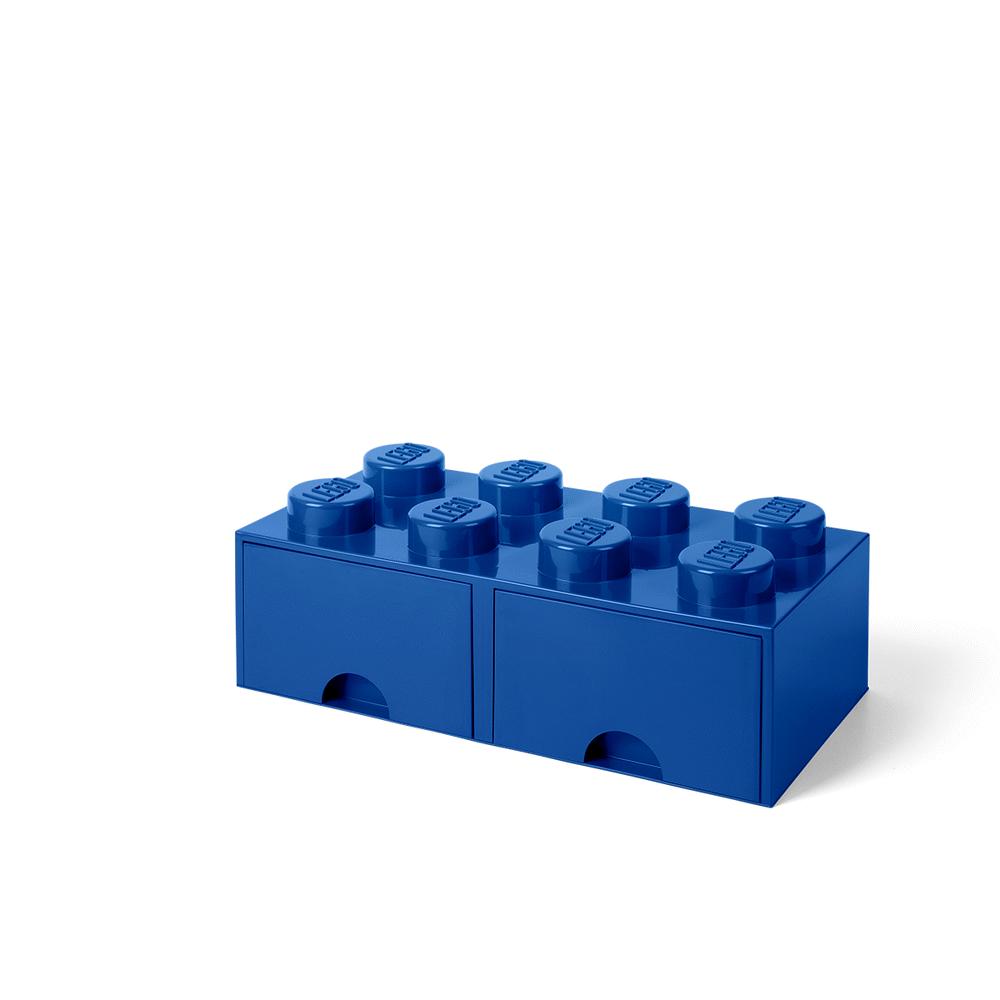LEGO Storage LEGO Opbevaringsskuffe Brick 8 - Bright Blå - Opbevaring - LEGO Storage