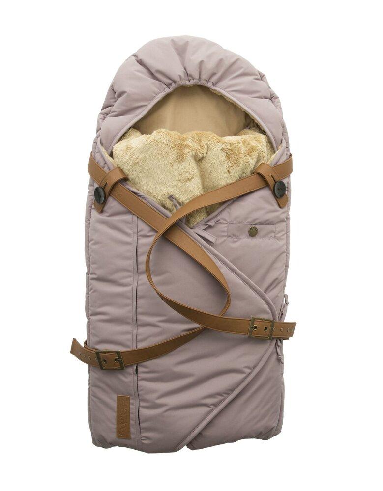 Image of Sleepbag.dk Babysovepose, quail-brun (266e53c0-1d32-40cb-a067-a2c9a9b4764f)