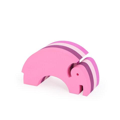 bObles elefant medium - multi pink