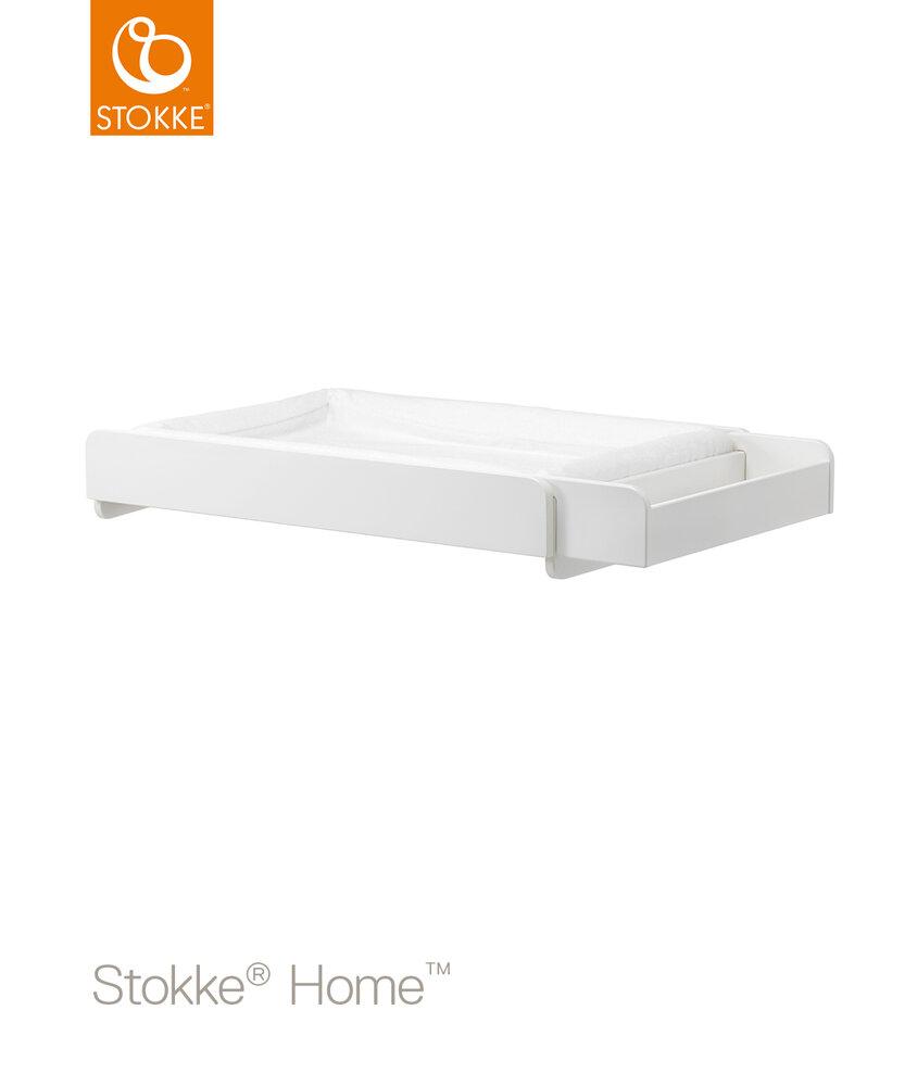 Image of Stokke® Home Pusleplade - Hvid (59559b49-0fff-4315-a63e-78ece6888000)