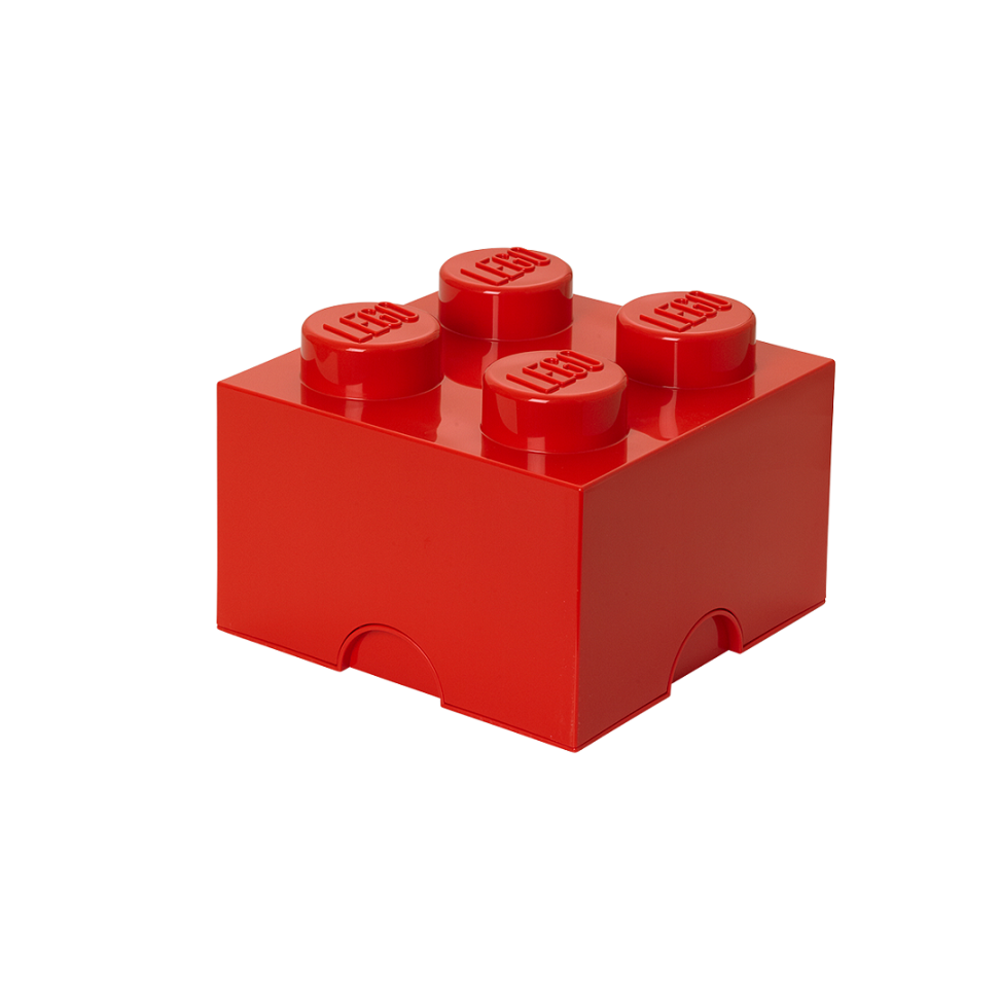 LEGO Storage LEGO Opbevaringskasse 4 - Rød - Opbevaring - LEGO Storage