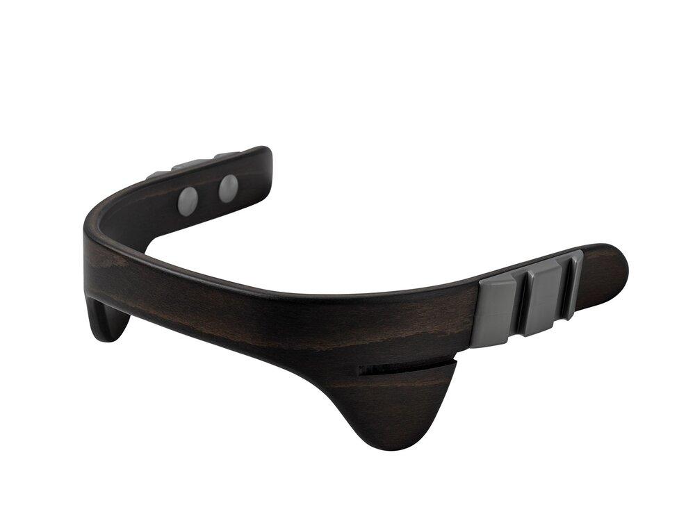Image of   Leander® bøjle til højstol inkl. læderstrop - Valnød - Strop: brun