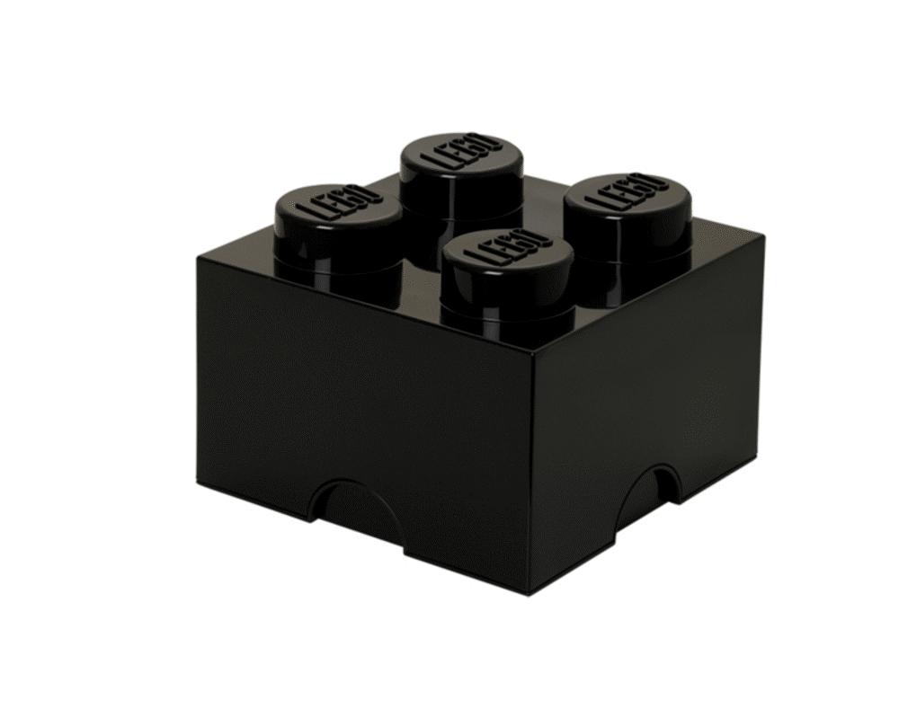 LEGO Storage Lego Opbevaringskasse 4 Sort - Opbevaring - LEGO Storage