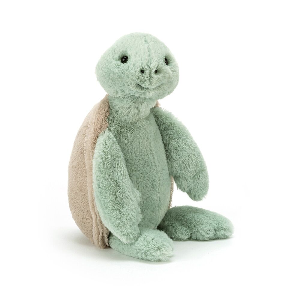 Image of JellyCat Bashful Skildpadde, Lille 18 cm (6b6a246f-2bdf-4c43-a62b-f039fbbdc8f3)