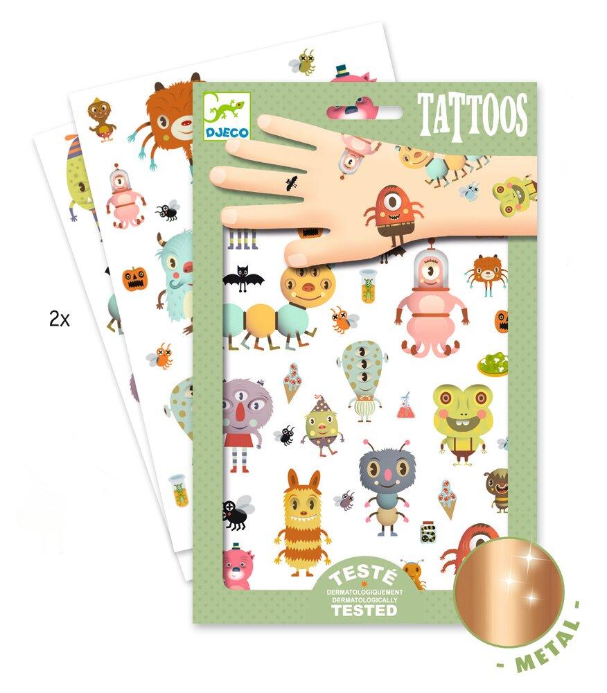 Djeco Tattoos, Monsters thumbnail