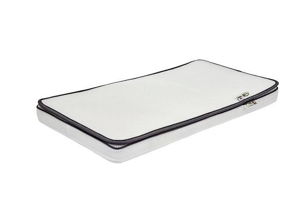 DreamSafe Madras 70x160cm - Inklusiv Topmadras - Hvid