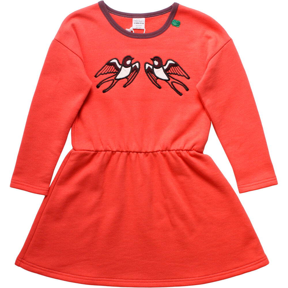 Image of   Freds world Bird Sweatkjole - Warm Coral