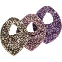 3 Pak Tørklæde-Smæk - Orkide 611
