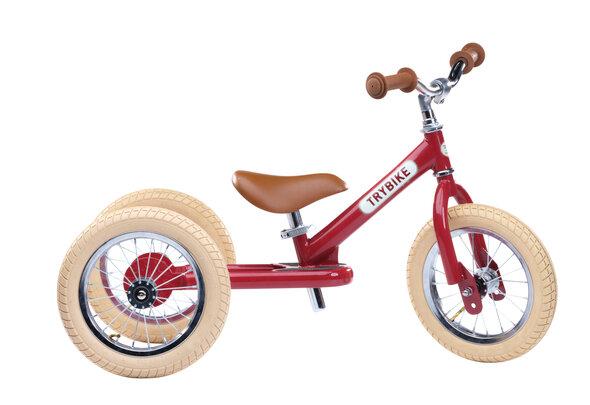 Trybike 3-Hjul, Rød
