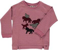 Sweatshirt Med Heste - Mesa Rose