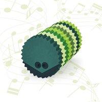 bObles pindsvin med lyd - multi grøn