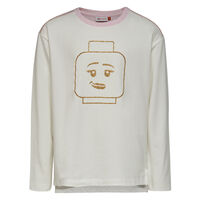 Tanya 706 - Langærmet T-Shirt - Råhvid