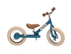 Trybike 2-Hjul, Vintage Blå