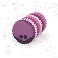 bObles pindsvin med lyd - multi pink