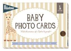 Milestone Fotokort Dansk - Sophie la Girafe
