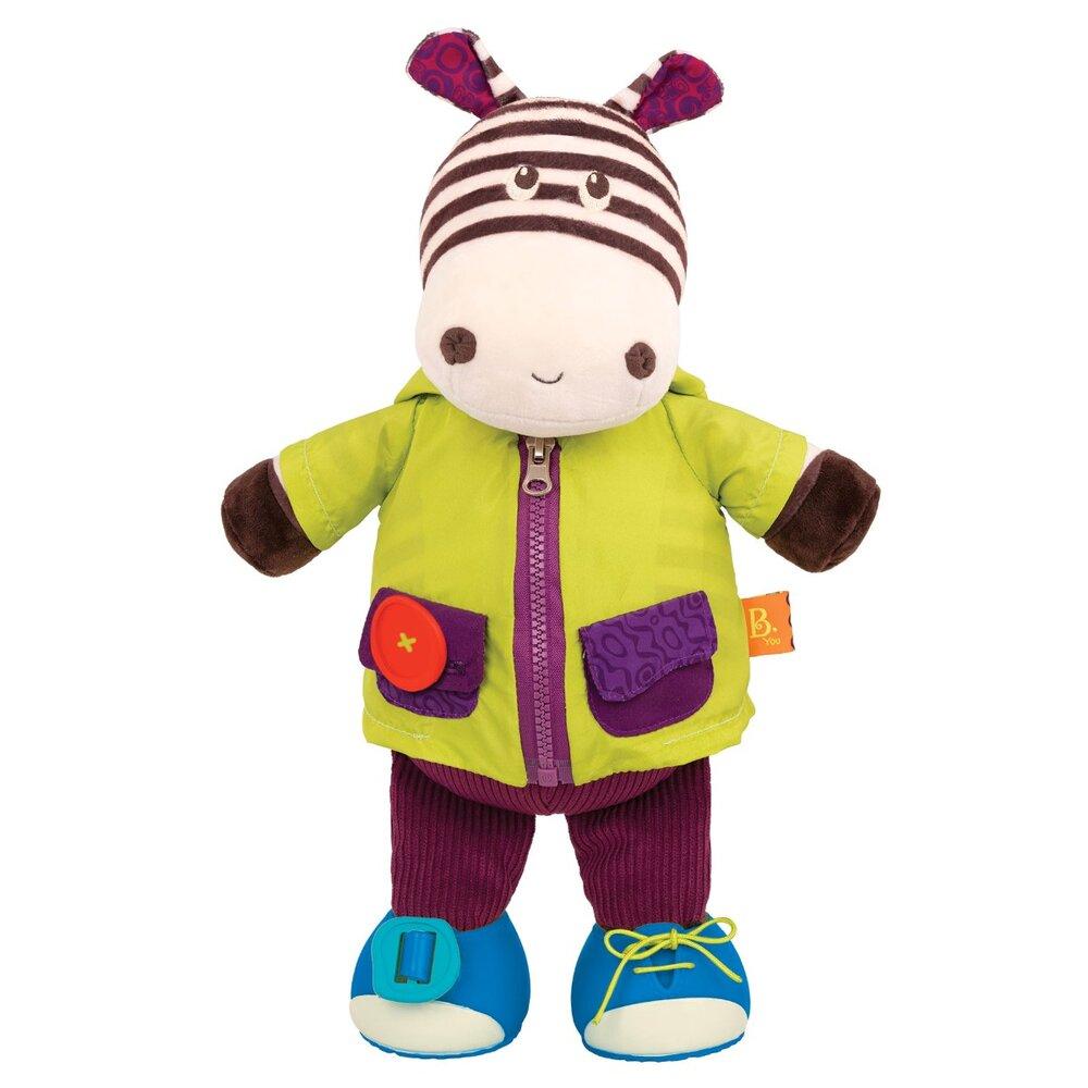 Image of   B Toys Klæd På, Zebra