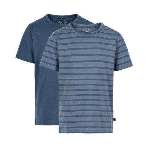 Basis T-shirt (2-pak) - 713