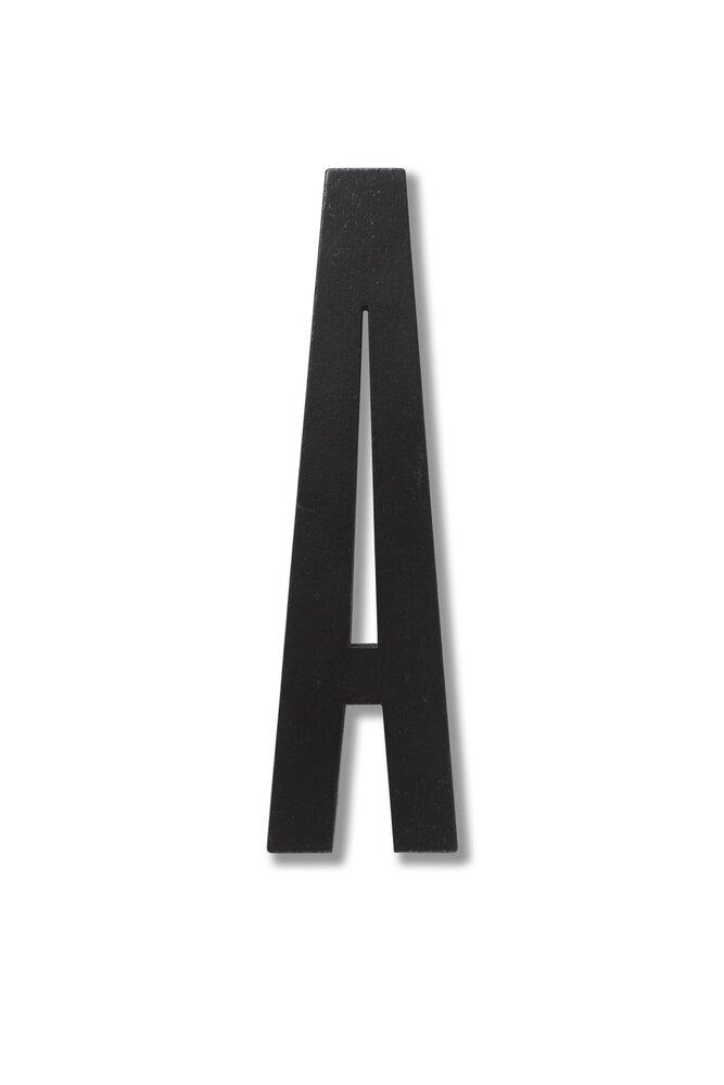 Image of   Design Letters Træbogstaver Fra A - Å - Sort