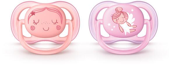 Sut Ultra Air 0-6, 2-pak - Pink