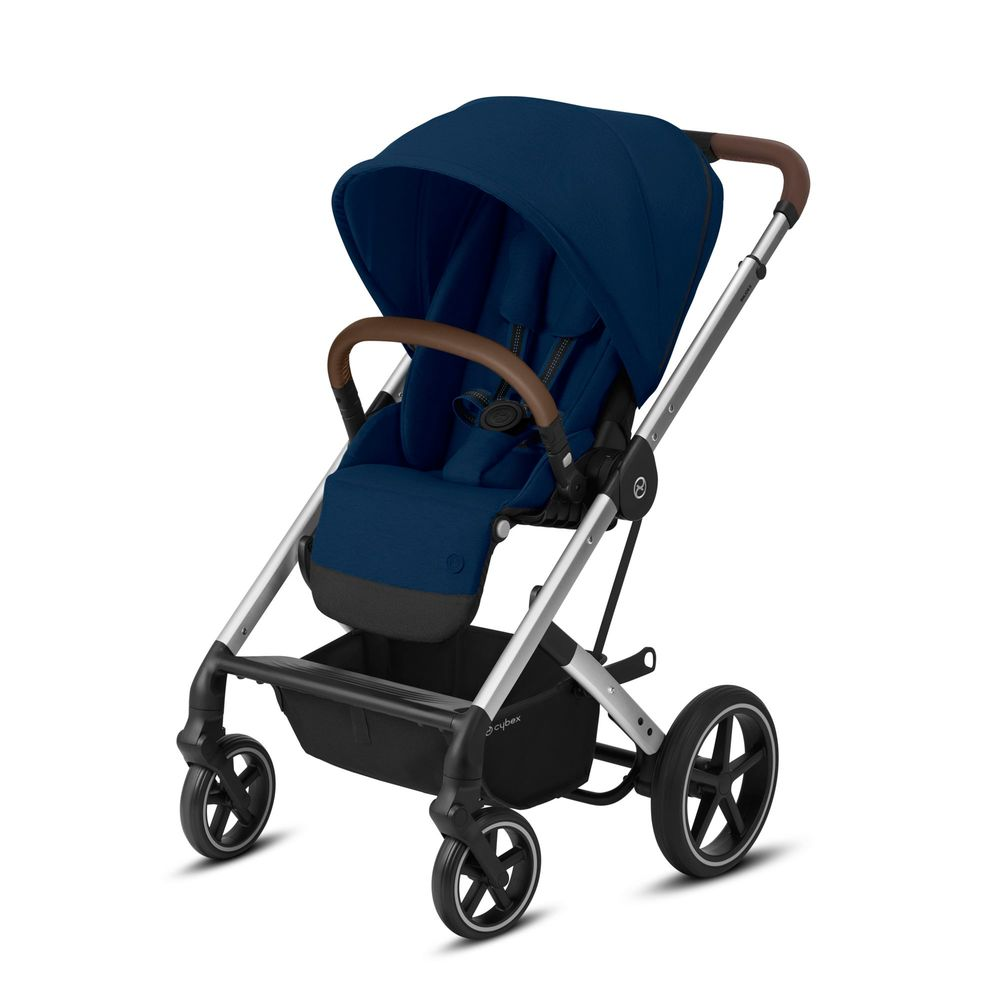 Image of   Cybex Balios S Lux silver stel - Navy blue