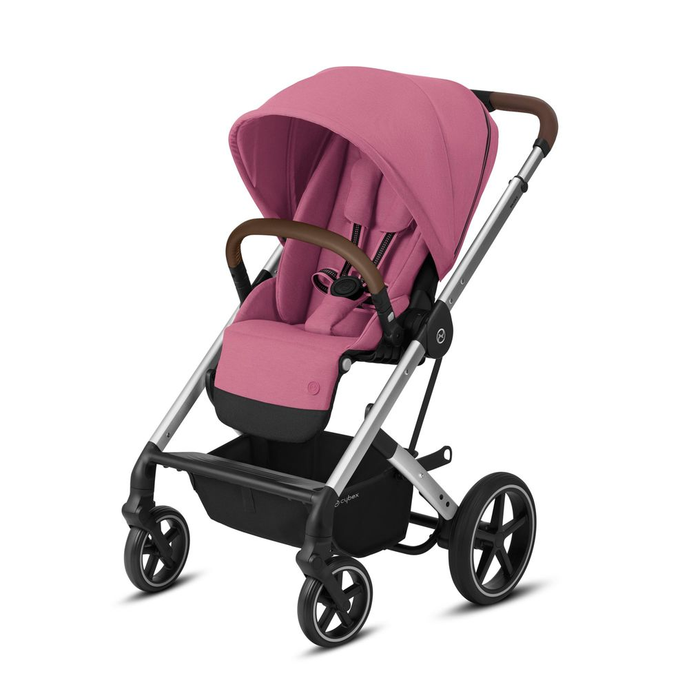 Image of   Cybex Balios S Lux silver stel - Magnolia pink