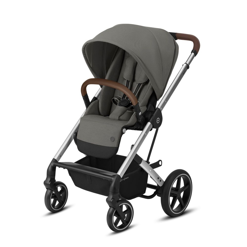 Image of   Cybex Balios S Lux silver stel - Soho grey