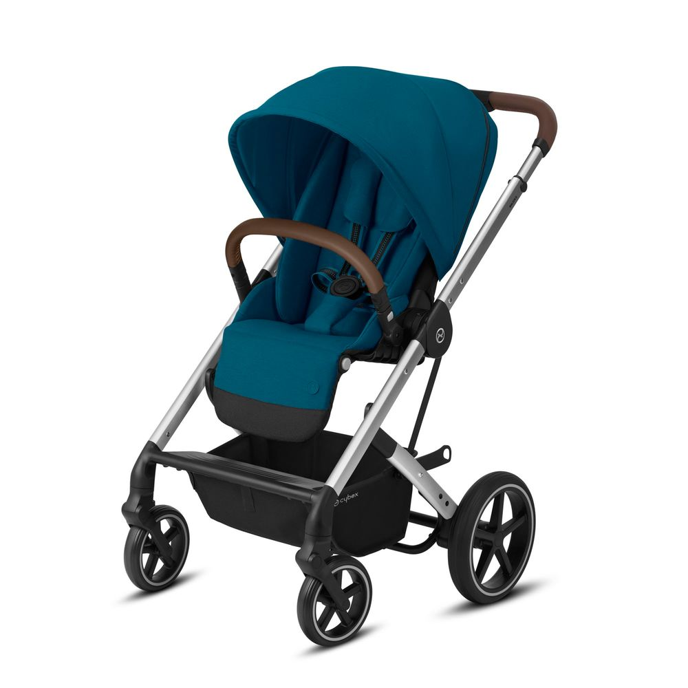 Image of   Cybex Balios S Lux silver stel - River blue