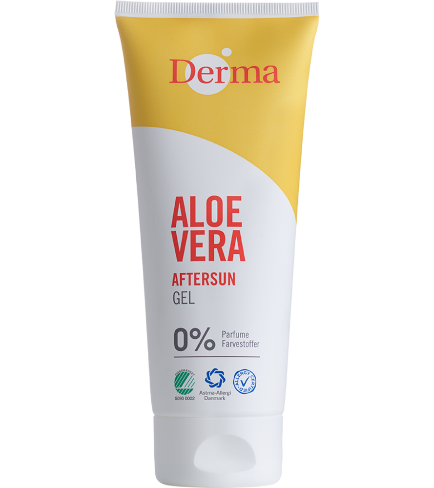Image of   Derma aftersun Aloe Vera Gel 200 ml.