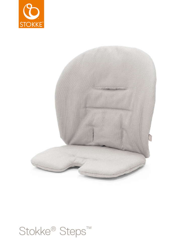 Image of   Stokke® Steps Baby Pude, Timeless Grey