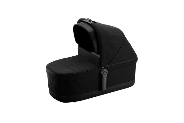 Sleek Carrycot, Black On Black