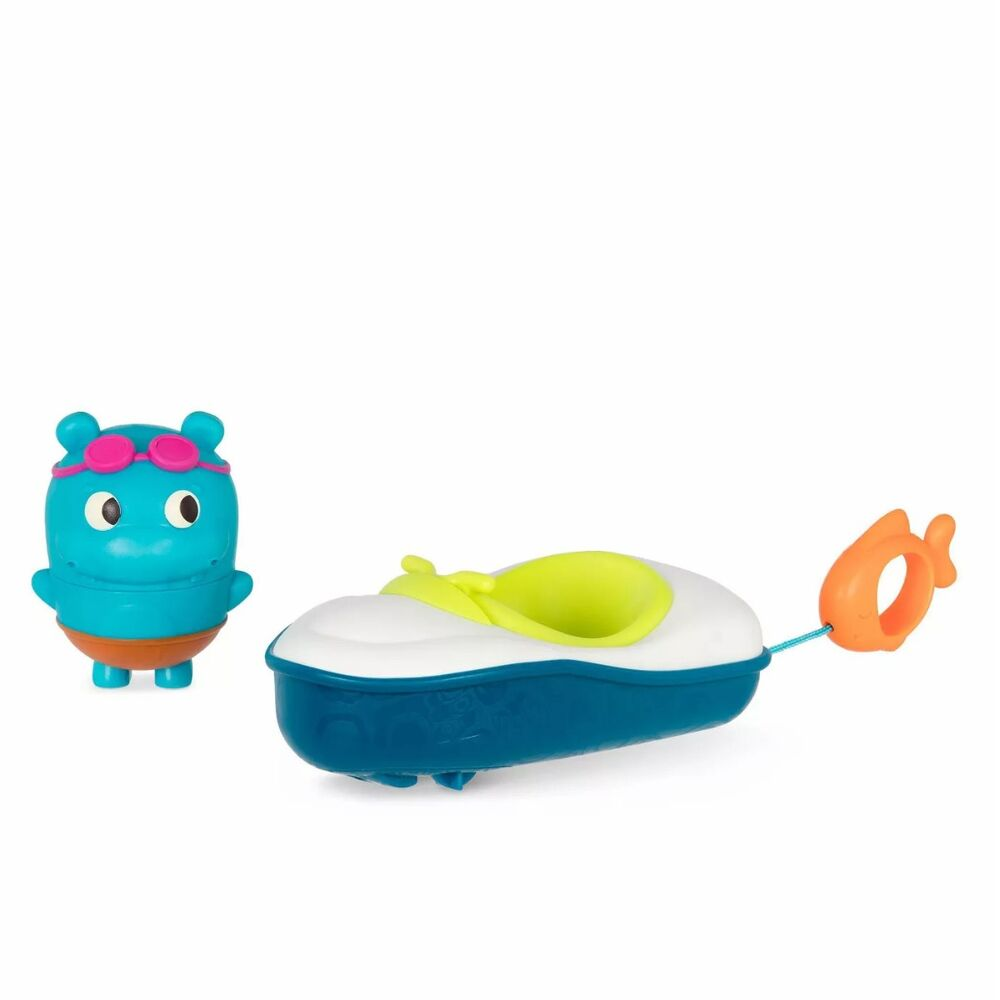 Image of   B Toys Flodhest badebåd