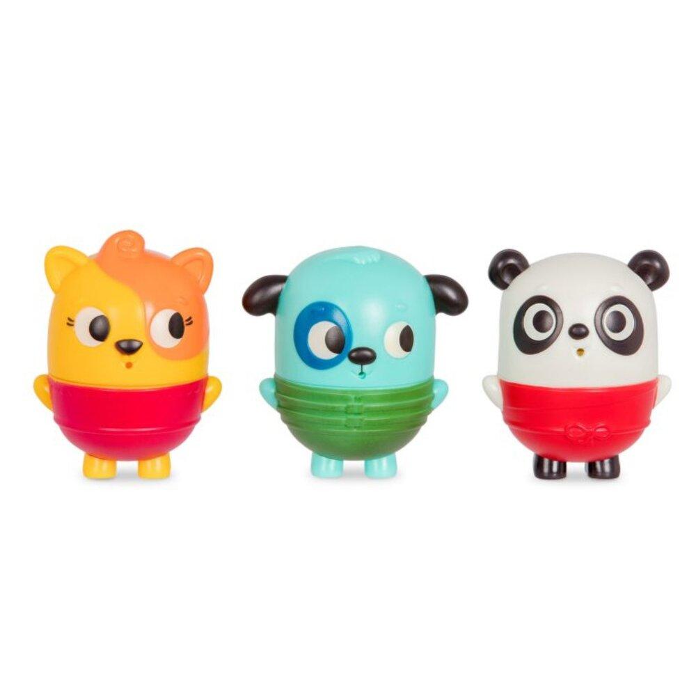 Image of   B Toys Badeleg kat, hund & panda