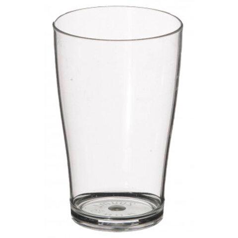 Drikkeglas i brudsikker polycarbonat 20 cl.