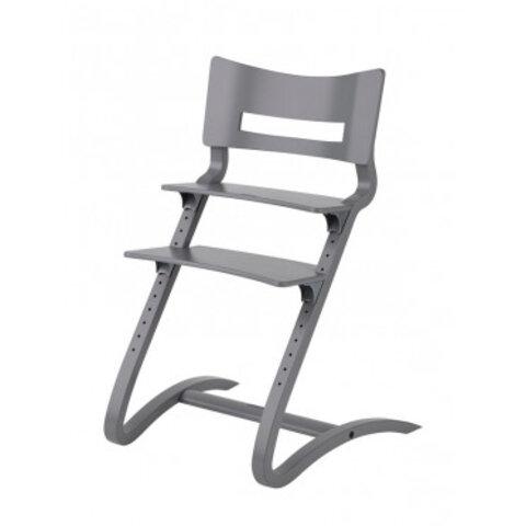 Leander højstol ekskl. bøjle, grå.
