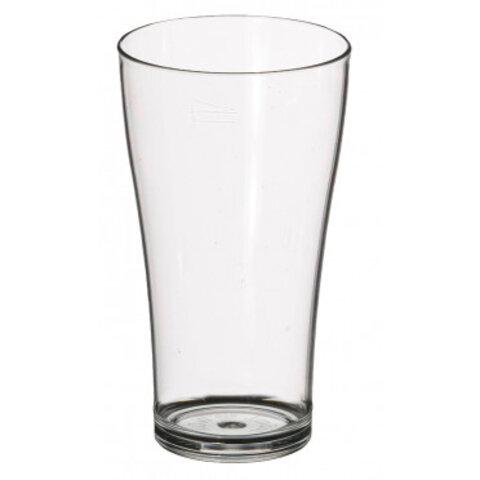 Drikkeglas i brudsikker polycarbonat 28,5 cl.
