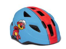 PH 8-S Cykelhjelm, Blå/Rød