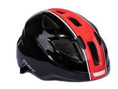 PH 8-M Cykelhjelm, Sort/rød