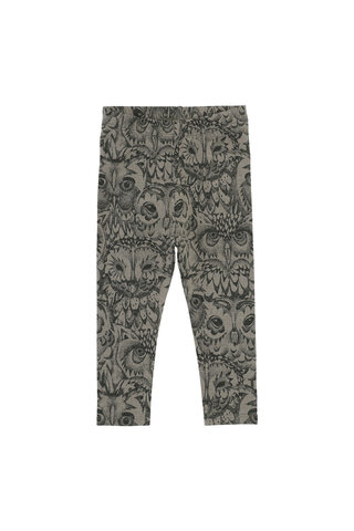 Baby Paula Leggings - OWL VETIVER