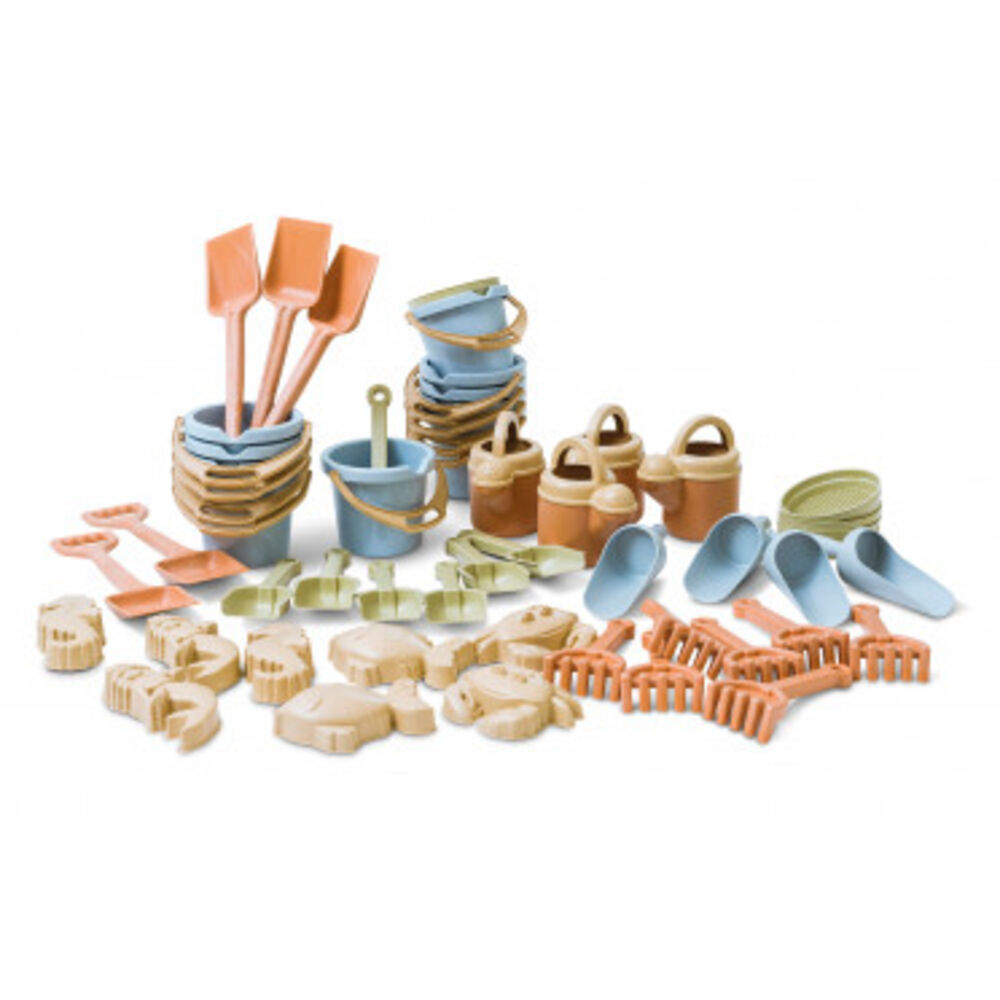 Image of   DanToy Bio plast sandsæt, 50 dele