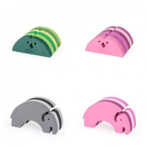 bObles små elefanter og kyllinger, ass. farver
