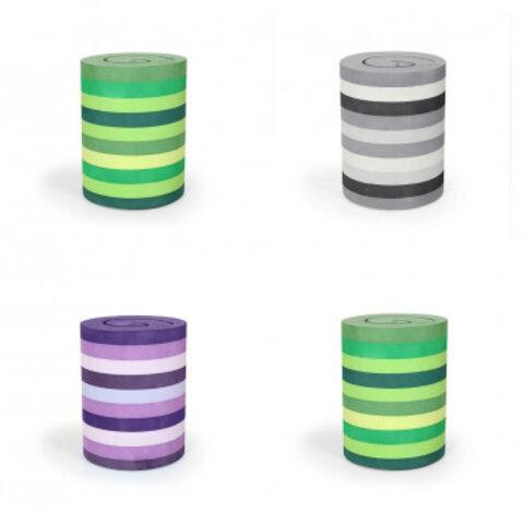 bObles aktive skamler A, ass. farver