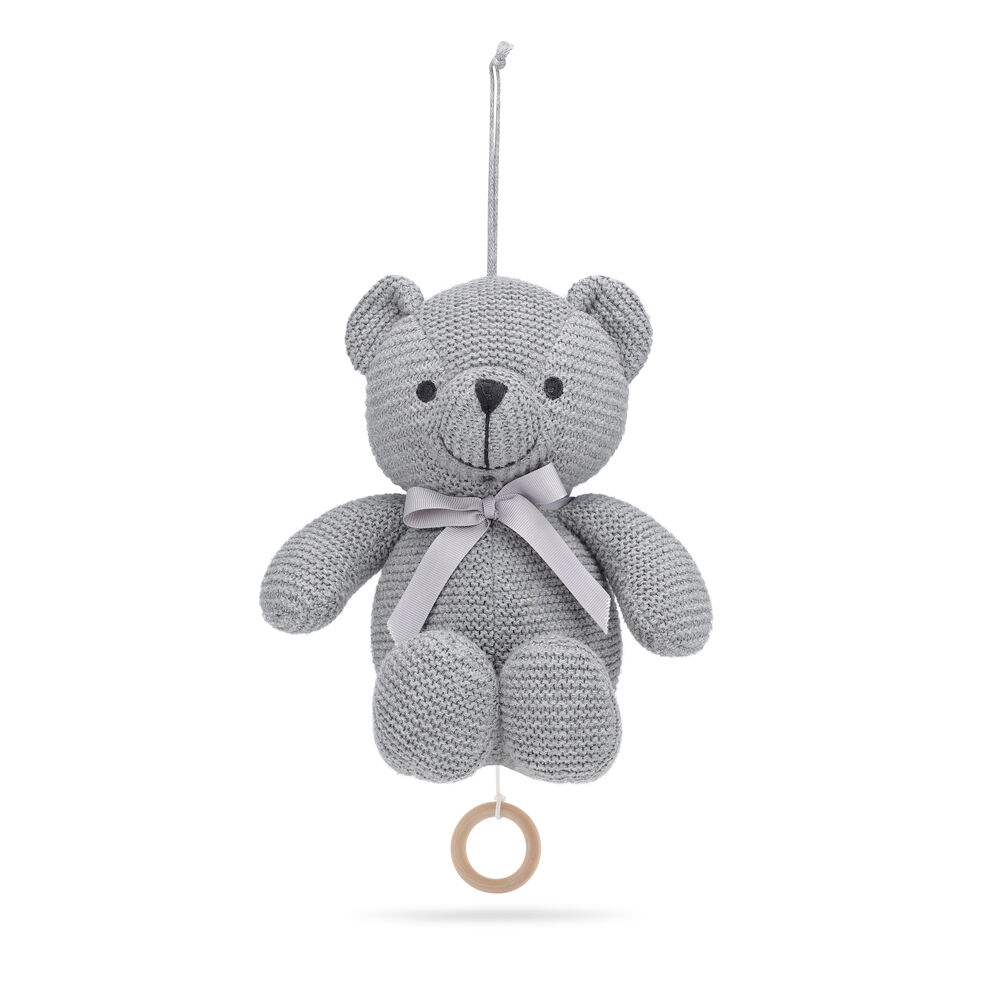 Image of   Vanilla Music Little Teddy Bear Grey
