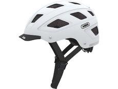 Hyban voksen cykelhjelm hvid str M - 52-58 cm