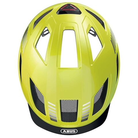 Hyban voksen cykelhjelm gul str M - 52-58 cm