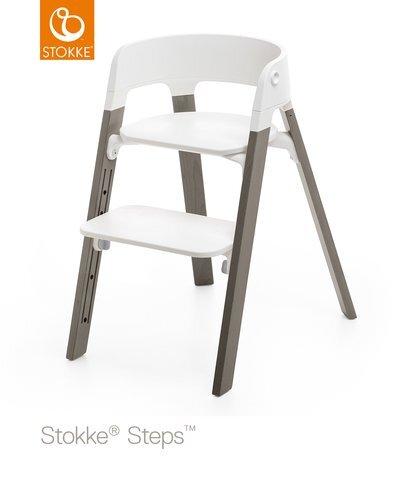 Stokke steps stol - Hazy Grey