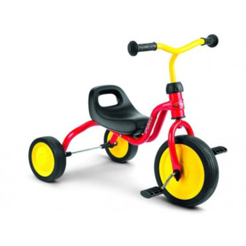 Trehjuler rød, Puky 18 mdr.