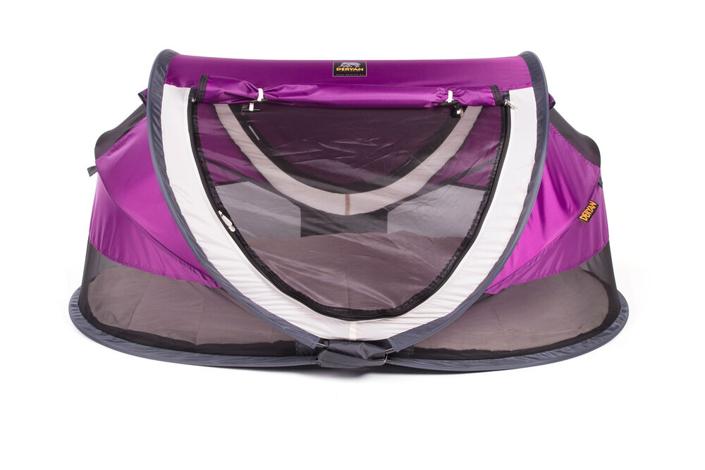 Image of Deryan Pop-Up Rejseseng Peuter Luxe - purple (f1bb8ce8-d736-446b-9ba7-d4ae9044f316)