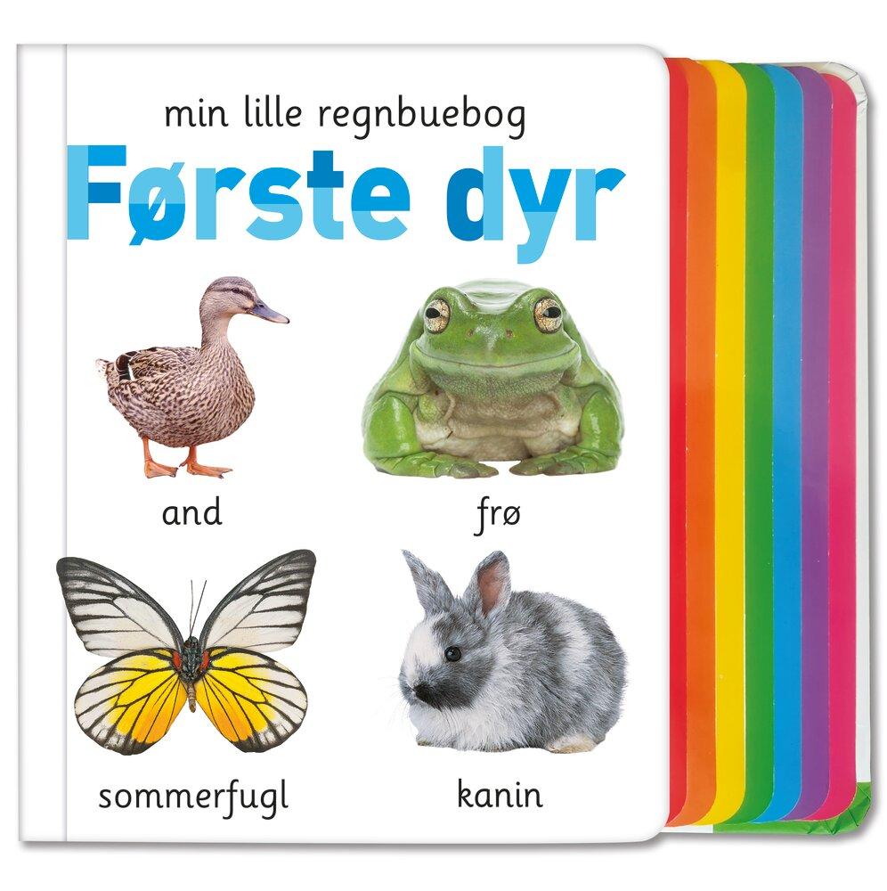 Alvilda Min lille regnbuebog - Første dyr - Børnebøger - Alvilda